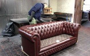 Покраска диванов
