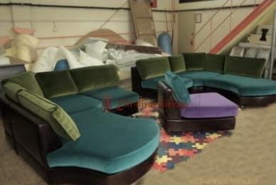 бесформенный диван