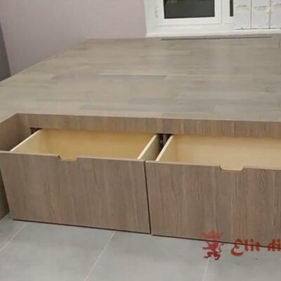умная кровать подиум на заказ