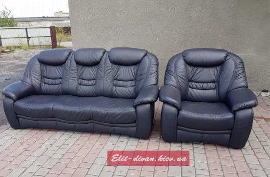 офисная мягкая мебель из кожи на заказ Печерск
