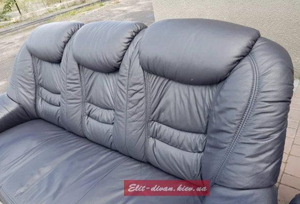 офисная мягкая мебель из кожи на заказ