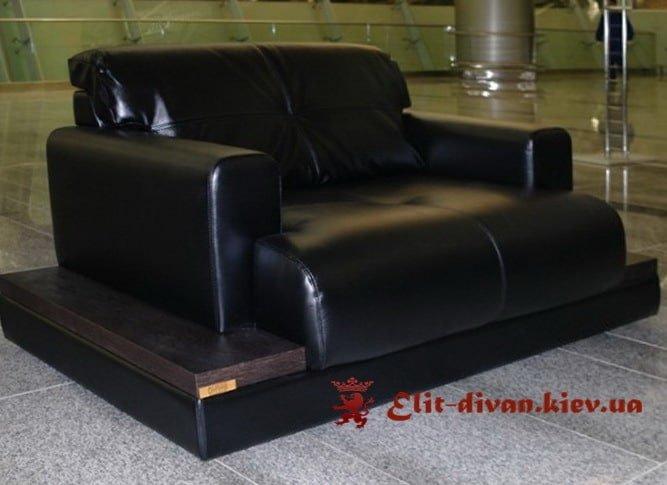 черные диваны в офис