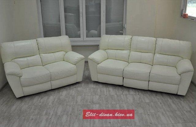 мягкая офисная мебель белого цвета на заказ
