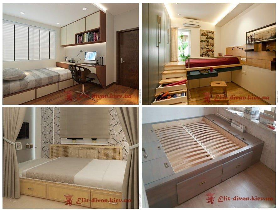 кровать-подиум на заказ