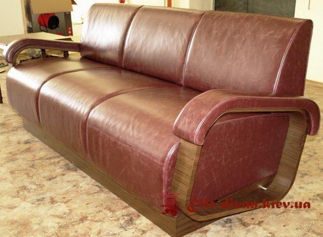 красный офисный диван купить