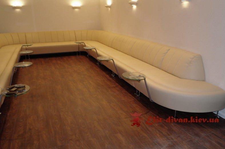 большой офисный диван