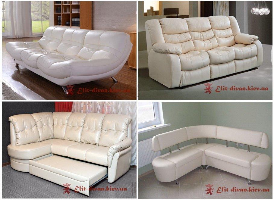 белый угловой диван индивидуальный проект