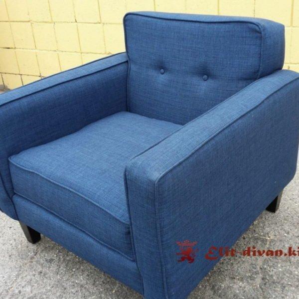 кресло голубого цвета на заказ