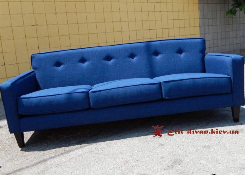 элитный голубой диван