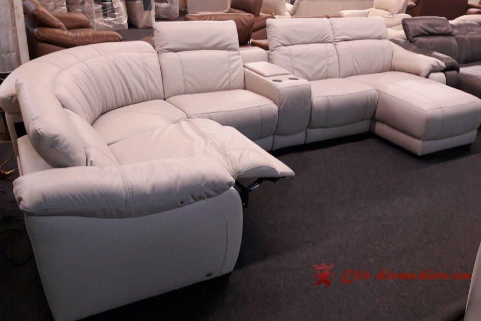 дорогой белый умный диван фирменный на заказ умный