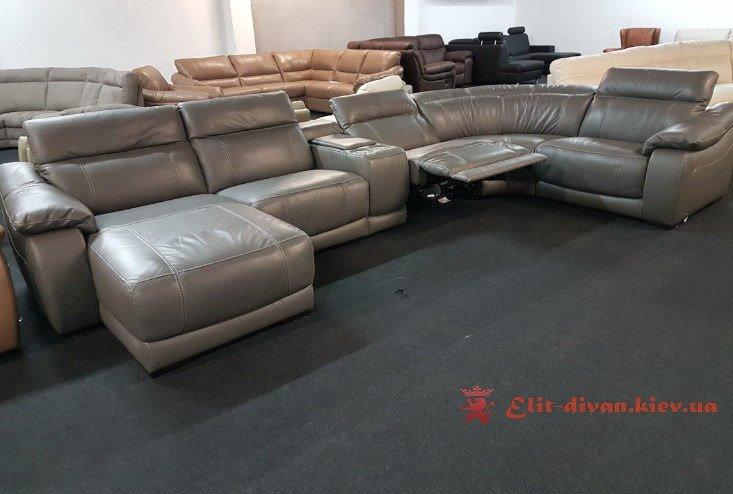 серый умный диван фирменный на заказ