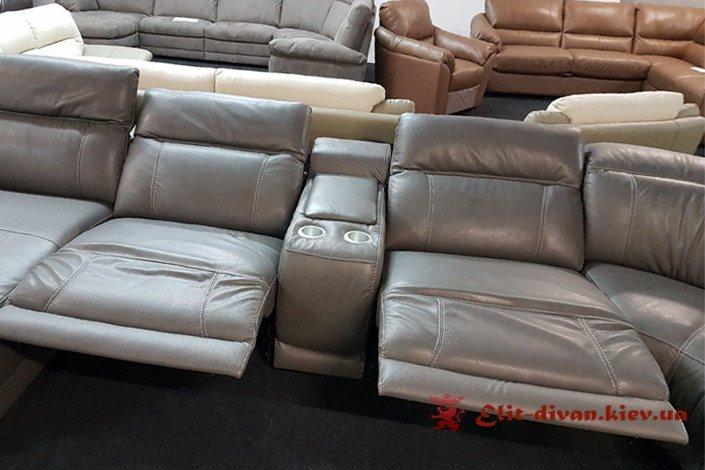 диван серый заказной из италии