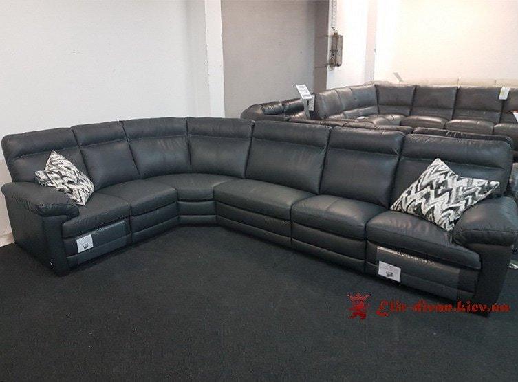черный элитные фирменные диваны на заказ в Киеве