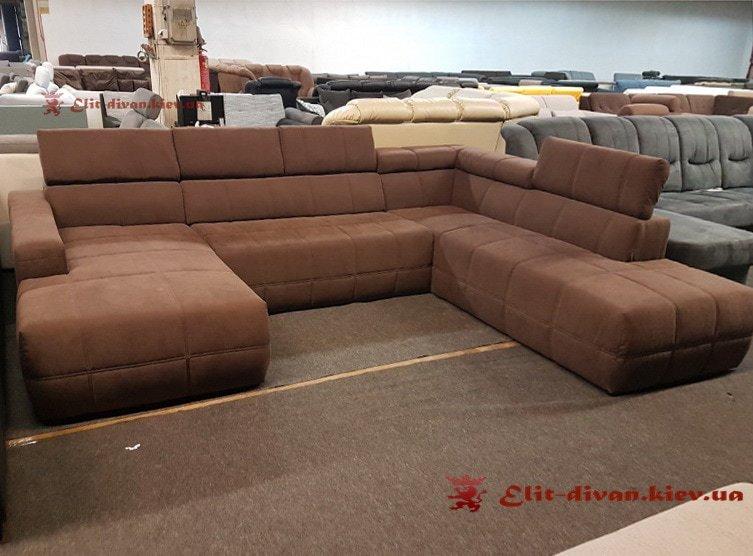 фирменный п образный диван