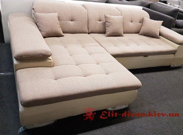 угловой диван с подушками фирменый