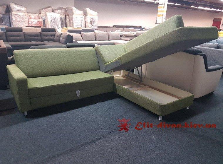 кухонный фирменный диван со спальным местом под заказ