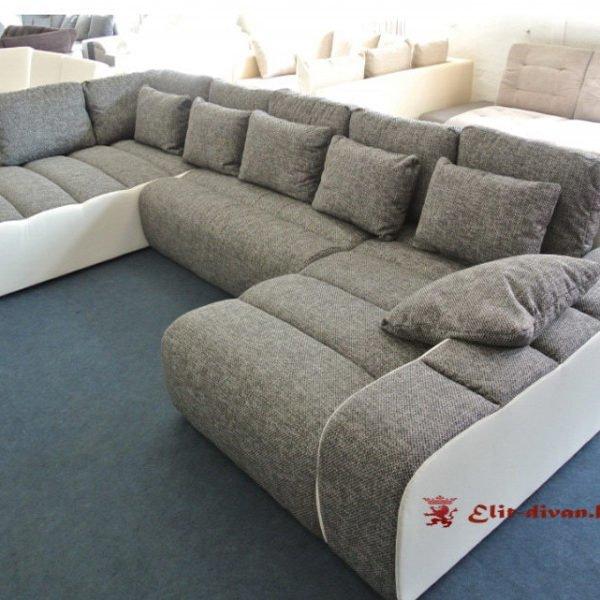 большой диван модерн