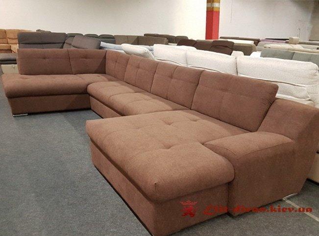 дорогой классический фирменный диван на заказ