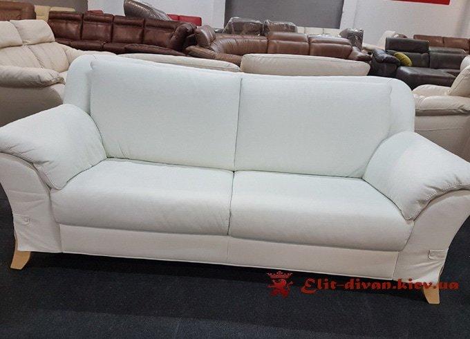 белый мягкий диван на заказ