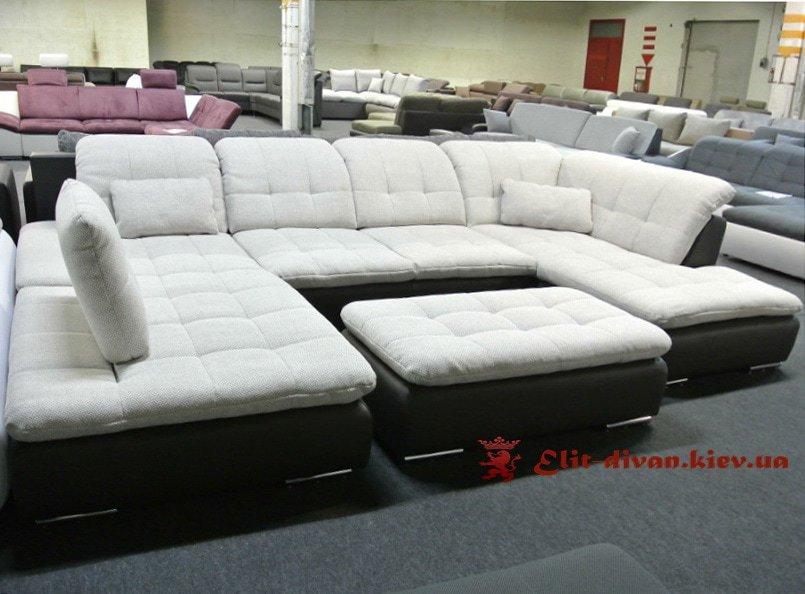 п образный диван модерн на заказ в Киеве