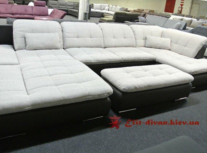 п образный диван модерн