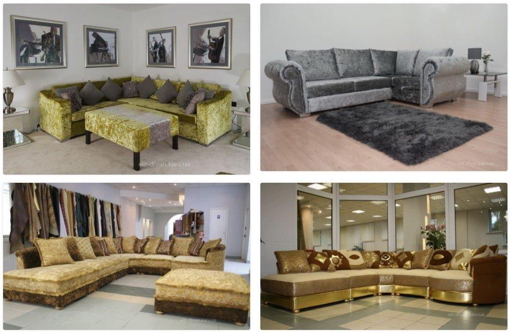 итальянские диваны под заказ в Киеве