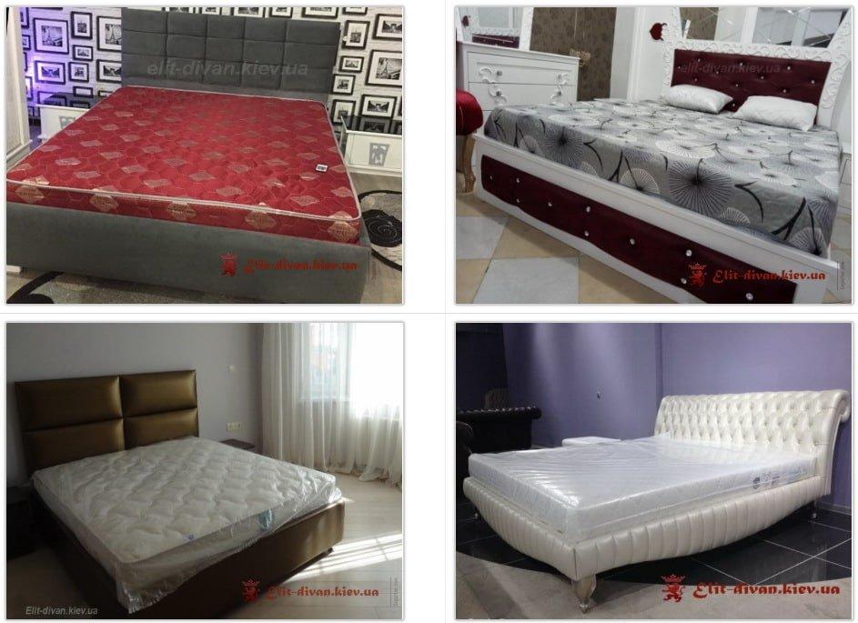 Кровать в современном стиле