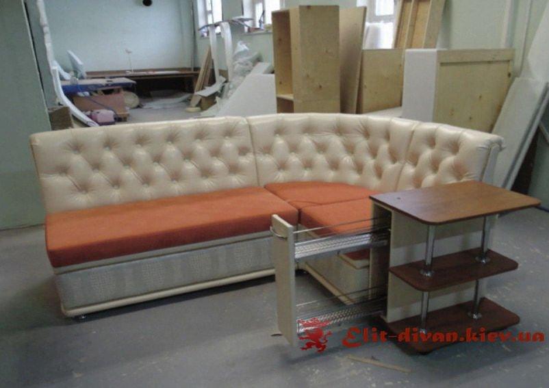 элитный кухонный диван под заказ в Киеве