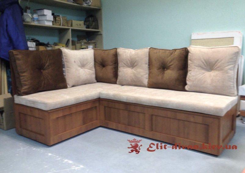 угловой кухонный диван под заказ