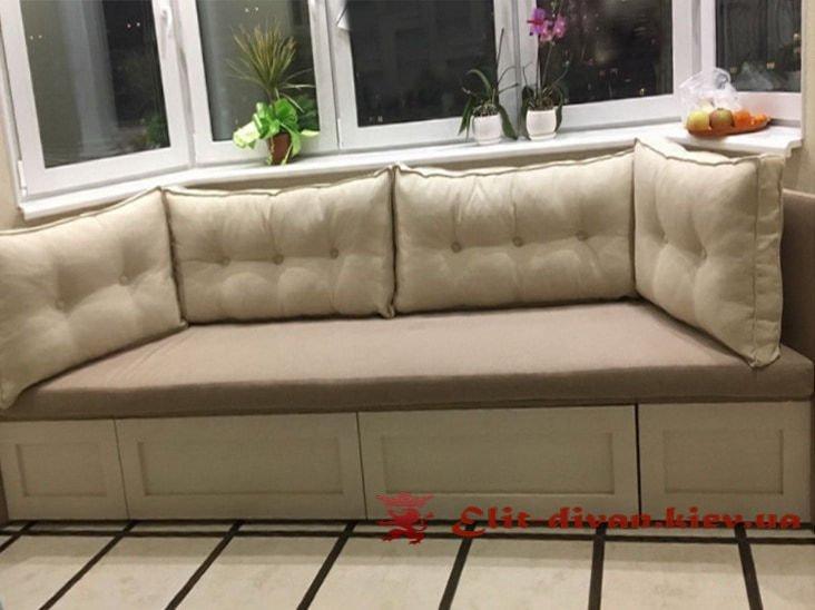 el.p-134  прямой диван на кухню