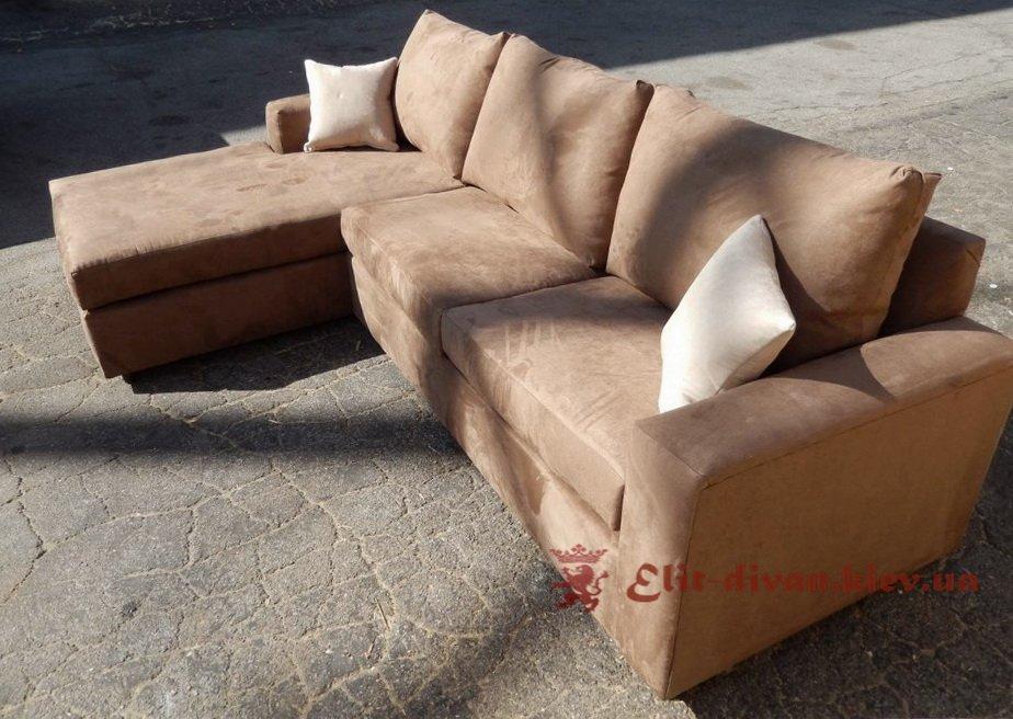 коричневый диван на заказ