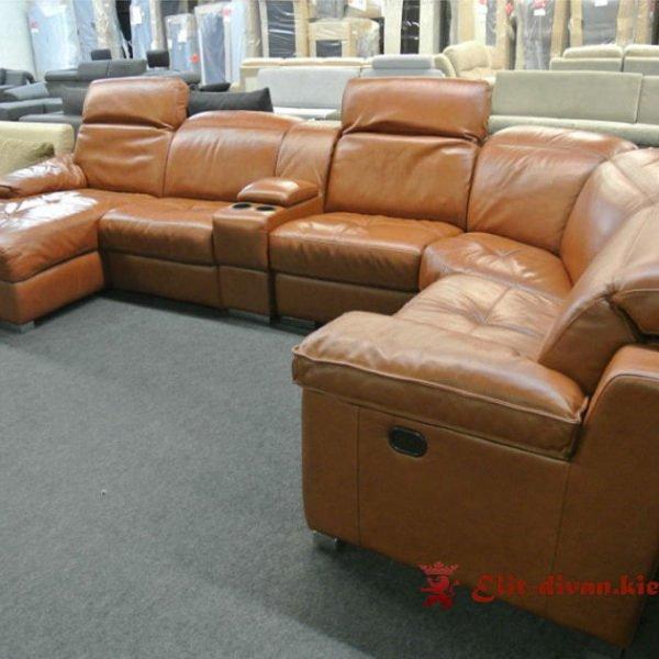 элитная мягкая мебель с реклайнером под заказ