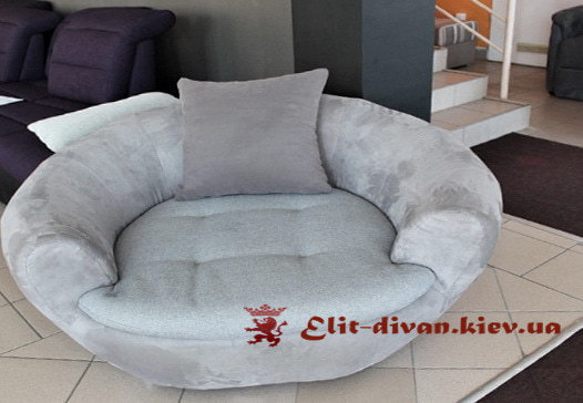 круглый классический диван заказать