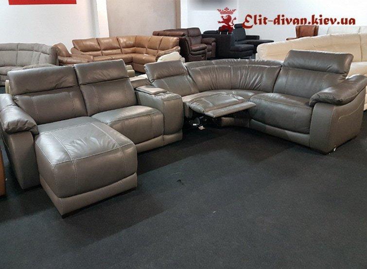 умный диван п образный с механизмом