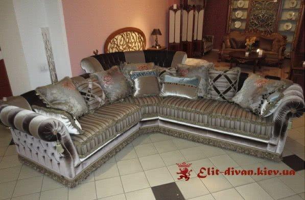 фотографии красивых угловых дизайнерских диванов под заказ