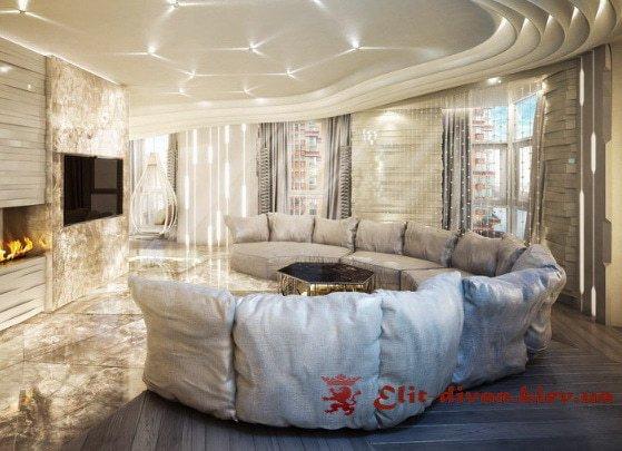 дизайнерские красивые круглые диваны