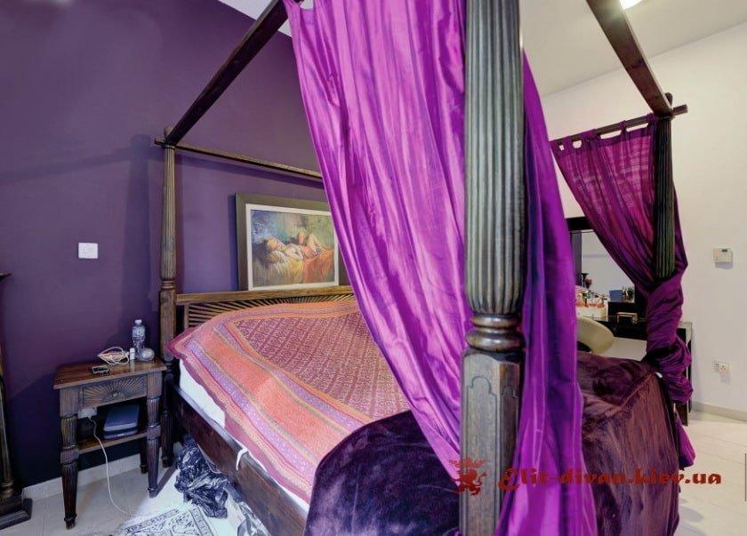 кровать с балдахином под заказ