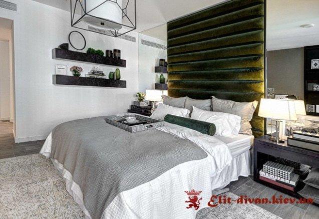 кровать с высокой спинкой под заказ