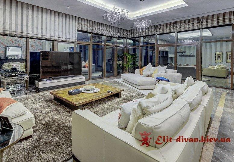 белые диван в гостиную