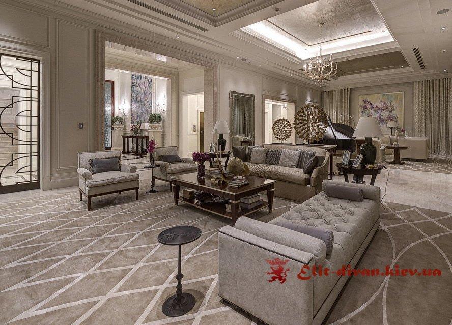 угловой диван в гостиную на заказ