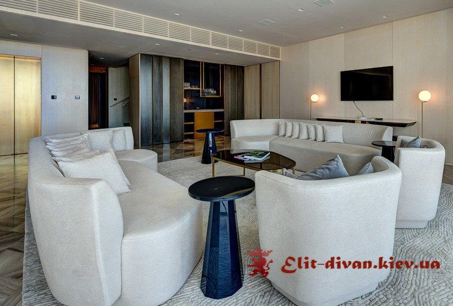 угловой диван в гостиную на заказ в Киеве