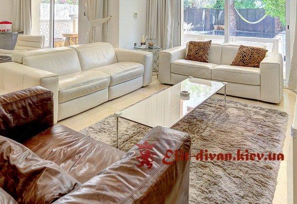 диван с креслами в гостиную на заказ