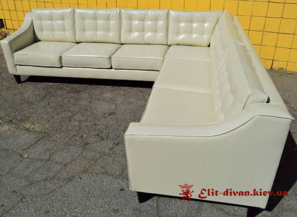 белый диван в кафе под заказ
