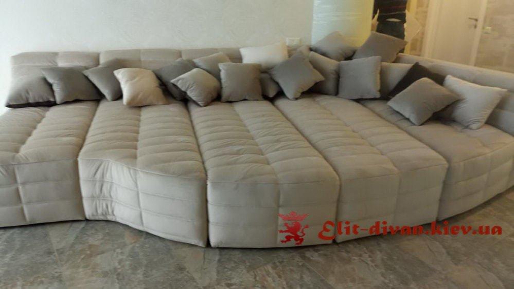 самый крвасивый радиусный диван
