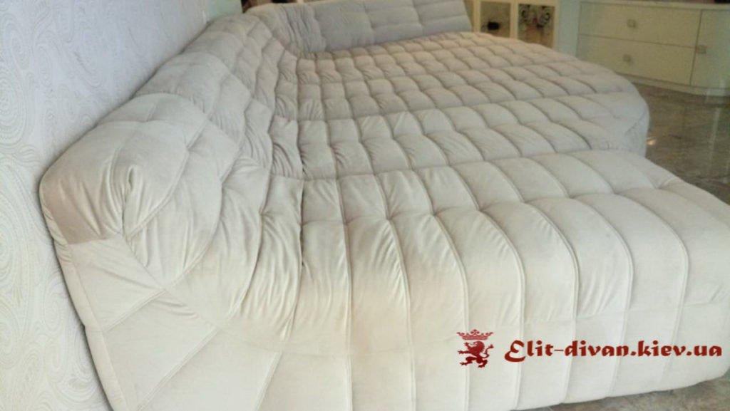 диван кровать белый под заказ