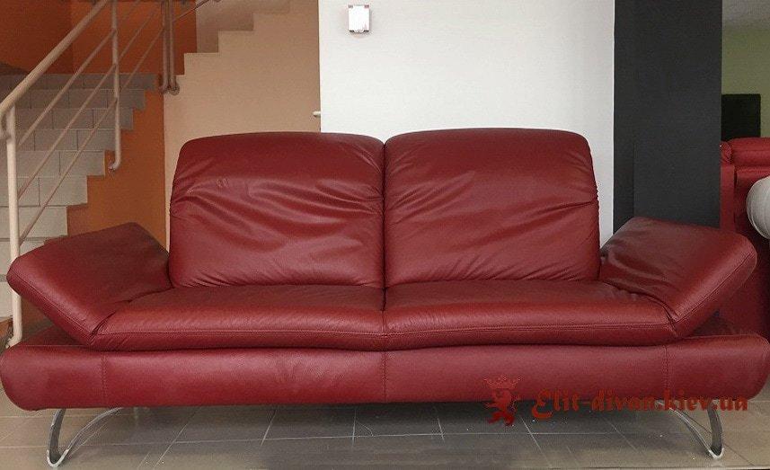 заказной красный диван Мариуполь