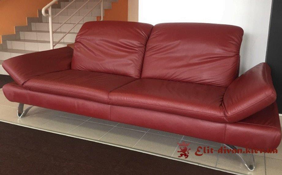 Красный диван на заказ Краматорск
