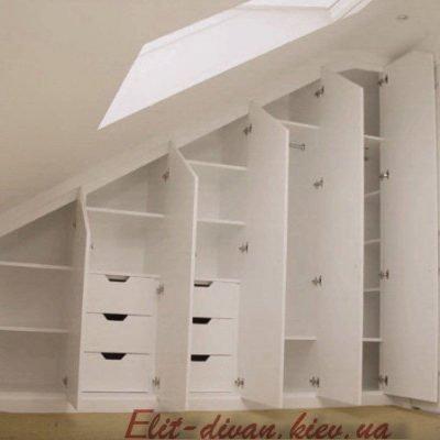 проект мебели в мансаду