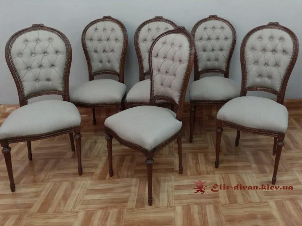 мягкие стулья борокко