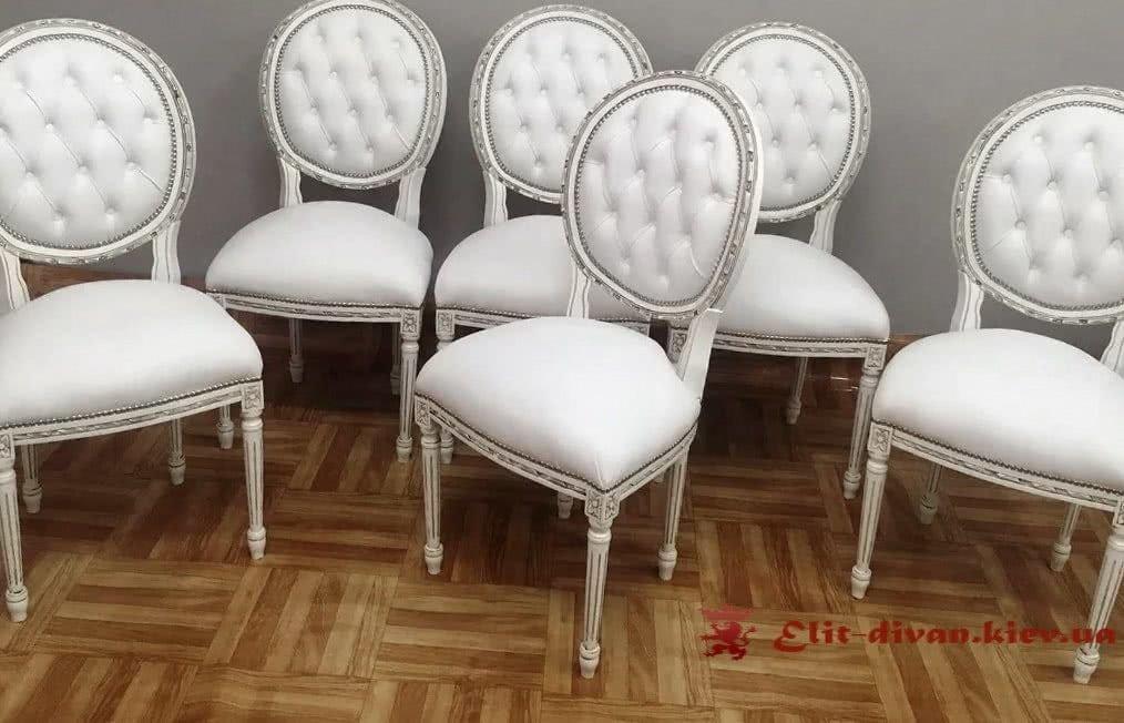 мягкие стулья борокко на заказ в Киеве